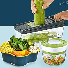 Vegetable Chopper with Container,Multifunctional