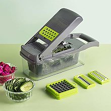 Vegetable Chopper with Container,Onion Mincer