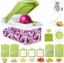 Vegetable Cutter, Gifort 16 in 1 Vegetable Food