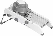 Vegetable Cutter, MAGT Silver Stainless Steel