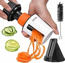 Vegetable Slicer Handheld Spiral - XREXS 2 in 1