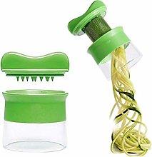 Vegetable Slicer Spiral Vegetable Grater Hand,