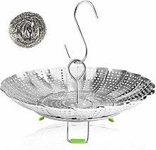 Vegetable Steamer Basket Stainless Steel