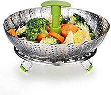 Vegetable Steamer Basket Stainless Steel Food