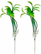 Vektenxi 10Pcs Bean Sprout Artificial Fake Plant