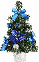 Vektenxi Artificial Christmas Tree Handmade Mini