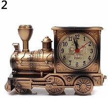 Vektenxi Clock | Cartoon Locomotive Train Alarm