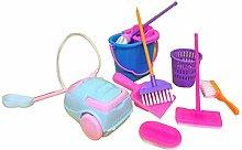 Vektenxi Premium Quality 9Pcs Cleaning Tool Broom