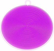 Vektenxi Round Silicone Dish Washing Sponge