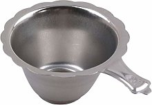 Vektenxi Stainless Steel Tea Filter Tea Leaf Drain