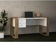 Velasco Desk Brambly Cottage Frame colour: Brown