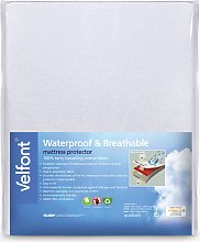 Velfont Terry Towelling Mattress Protector