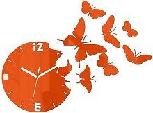 Velma 28cm Silent Wall Clock Zipcode Design