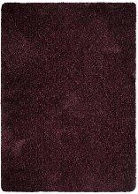 Veloce Purple Shaggy Rug 120 x 170cm