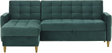 Velocity Corner Sofa Bed With Storage-Velluto 12