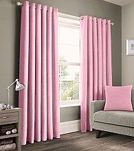 Velosso 100% Pure Cotton Plain Curtain Pair Panama