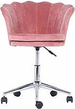 Velvet Chairs,Flower‑Shaped Computer Desk Chair