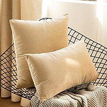 Velvet Cushion Cover, Decorative Square Sofa