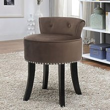 Velvet Dressing Table Chair Vanity Stool Piano
