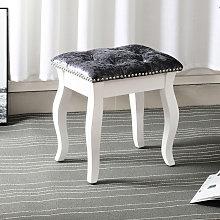 Velvet Dressing Table Stool Bedroom Chair Vanity