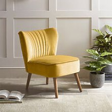 Velvet Leisure Chair Single Sofa