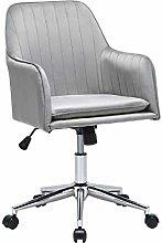 Velvet Office Chair Comfortable Ergonomic Desk
