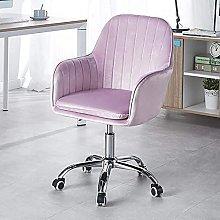 Velvet Office Chair,Modern Home Computer Chair Mid