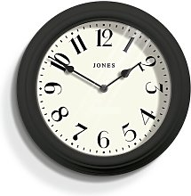 Venetian 30cm Wall Clock Jones Clocks Colour: Dark