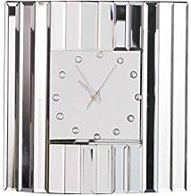 Venetian All Glass Mantle Clock