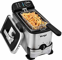 Venga! Deep Fat Fryer with Innovative Oil Filter