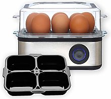 Venga. VG EK 3000 BS 2in1 8-Egg Boiler, Cooker and