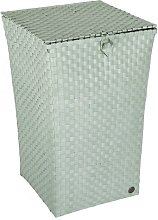 Venice Laundry Bin Handed By Colour: Greyish Green
