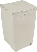 Venice Laundry Bin Handed By Colour: Pale Grey