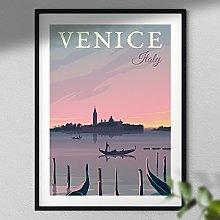 Venice Poster - Italy Travel Print | Travel Wall