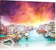 Venice Wall Art on Canvas East Urban Home