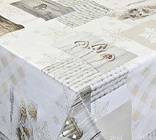 Venilia PVC Tablecloth, PVC polyester,