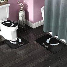 Venom Bathroom Rugs Set Non-Slip Water Absorption