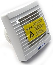 Vent Axia VA100LHP Extractor Fan with Pullcord,