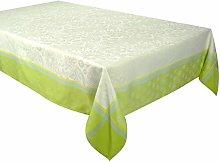 Vent Du Sud Table Cloth, Lime Green, 150 x 300 cm