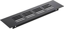 Ventilation grid for baseboard plate aluminum
