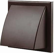 Vents 4 inch 100 mm Brown External Hooded Cowled