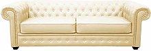 Venus Sofa Bed 3 Seater 2 Seater Black Cream Brown