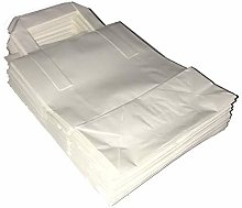 Venuscello® White Kraft Paper SOS Food Carrier