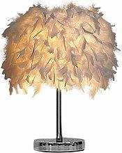 Verliked 15x35cm Handmade Feather Lampshade Modern