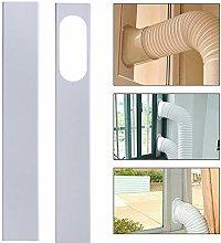 Verliked 2-Pcs 120cm Adjustable Window Slide Kit