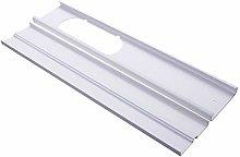 Verliked 2Pcs 55-110cm Adjustable Window Slide Kit