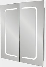 Verona Designer Line 2-Door Mirrored Bathroom