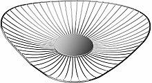 Versa 18551031 Triangular Fruit Bowl Chrome Steel