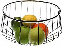 Versa 18559049 Chrome Steel Fruit Bowl