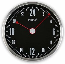 Versa 20900013 Kitchen Wall Clock, Aluminium,